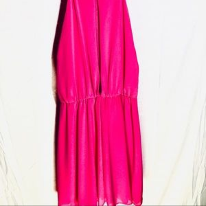 LULUS Bright Pink Dress. Gorgeous color!